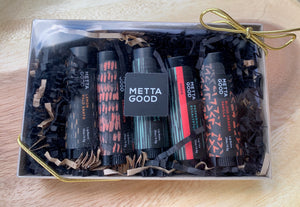Metta Good Artisan Lip Balm Gift Set of 5
