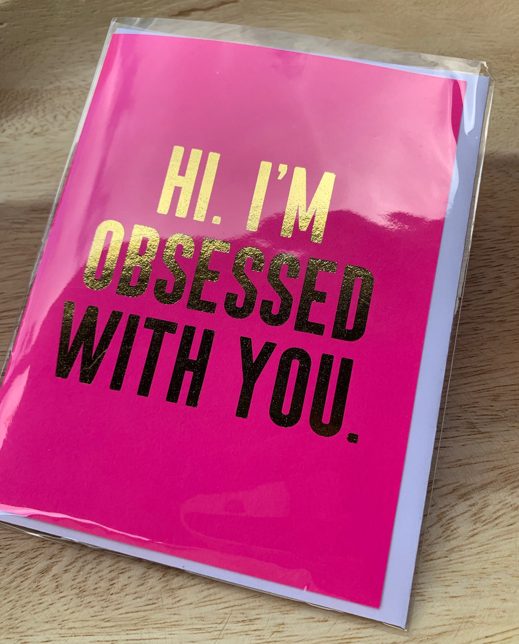 Bright Spots Paper Greeting Card- Obsessed