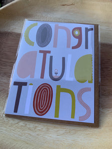 Katie Schaefer Illustration Greeting Card- Congratulations