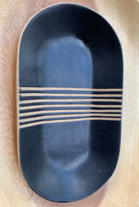 Zak Pottery Oval Small Dish