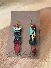 Load image into Gallery viewer, Sarah Shoot Mixed Media Wanderlust Earrings