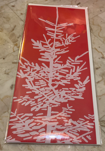 Kinaloon Greeting Card- Fir Tree