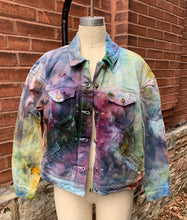 Load image into Gallery viewer, Sennit + Sauvage -IceDyed Denim Jackets for Women