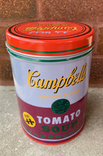 Load image into Gallery viewer, Warhol Soup Can Puzzle- 300 pc