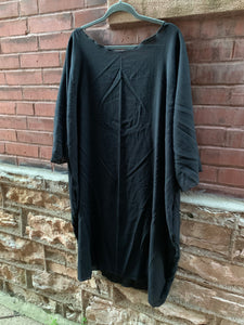 Sennit + Sauvage - Black Sack Dress/Tunic