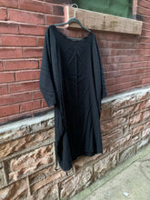 Load image into Gallery viewer, Sennit + Sauvage - Black Sack Dress/Tunic