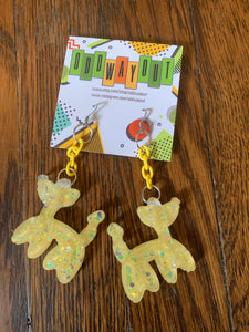 Odd Way Out— Balloon Dog Earrings