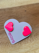 Load image into Gallery viewer, Wuve Handmade Heart Studs
