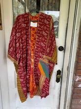 Load image into Gallery viewer, Sennit + Sauvage Kantha Handquilted Jacket- Long Length