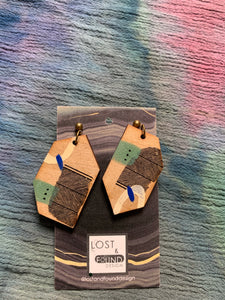 Lost & Found Design Mixed Media Earrings