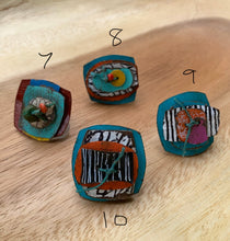 Load image into Gallery viewer, Sarah Shoot Mixed Media Adjustable Rings