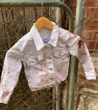Load image into Gallery viewer, Sennit + Sauvage -IceDyed Denim Jackets for Kids