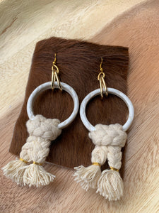 Lily Dawson Designs/Object Enthusiast Collab  Pottery Earrings