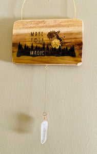 "Lost & Found Design ""Make Your Magic"" Wall Hanging"