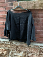 Load image into Gallery viewer, Sennit + Sauvage - Black Sack Top