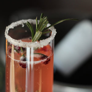Lingonberry & Rosemary Luxury Kombucha Cocktail