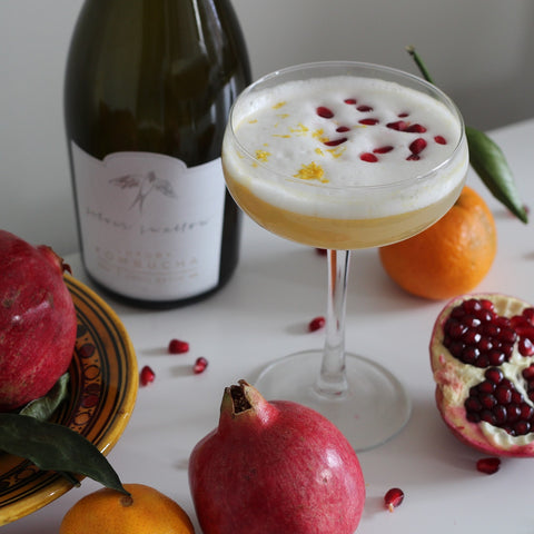 Moroccan Winter Fruit Kombucha Mimosa