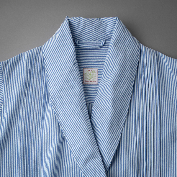 Robe showing shawl collar