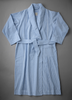 Robe Front showing pleats and pocket