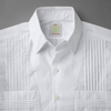 Elegant shirt with standard collar detail