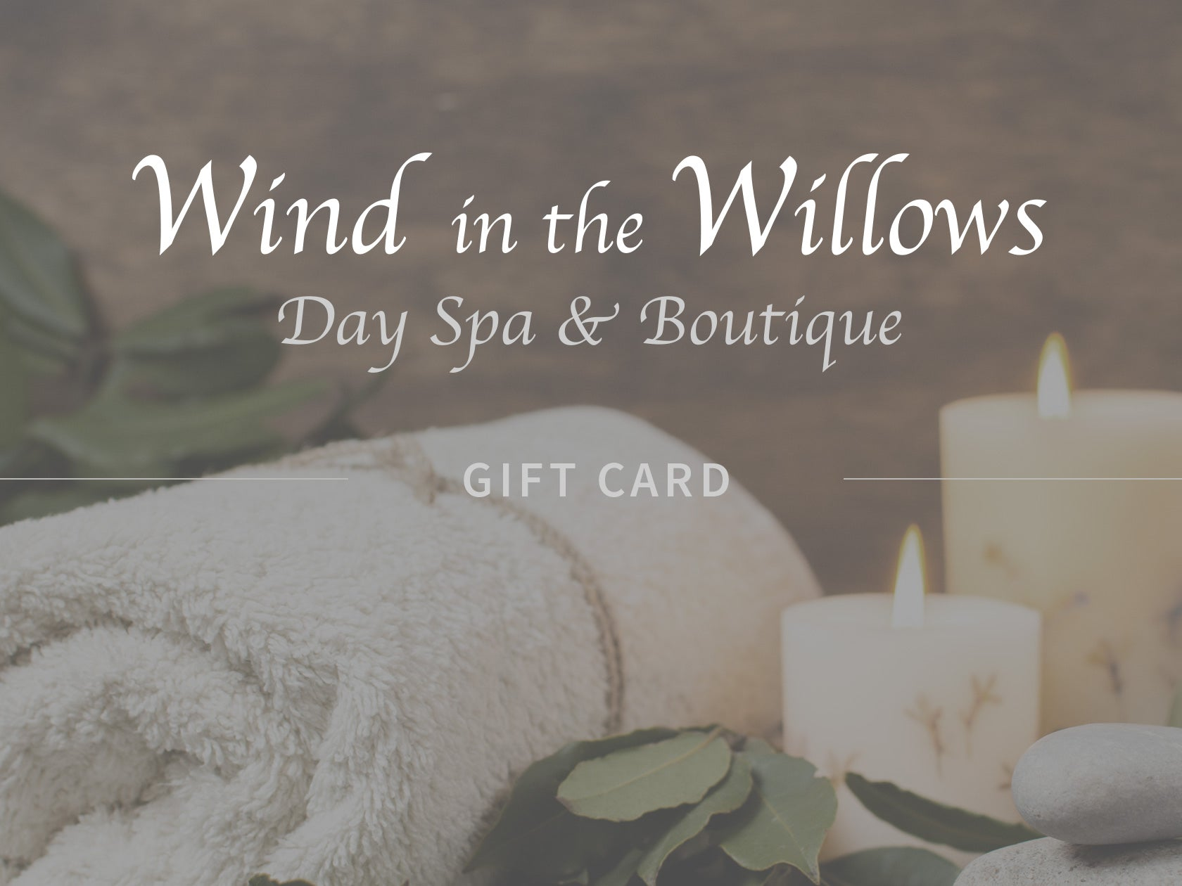Spa & Boutique Gift Cards