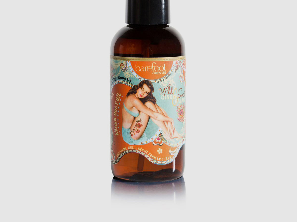 Wild Ginger Sweet Orange Argan Oil