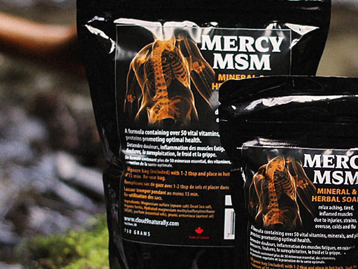 Mercy MSM Herbal Mineral Soak