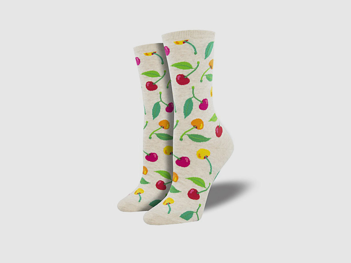 "Women's ""Cherries"" Socks"