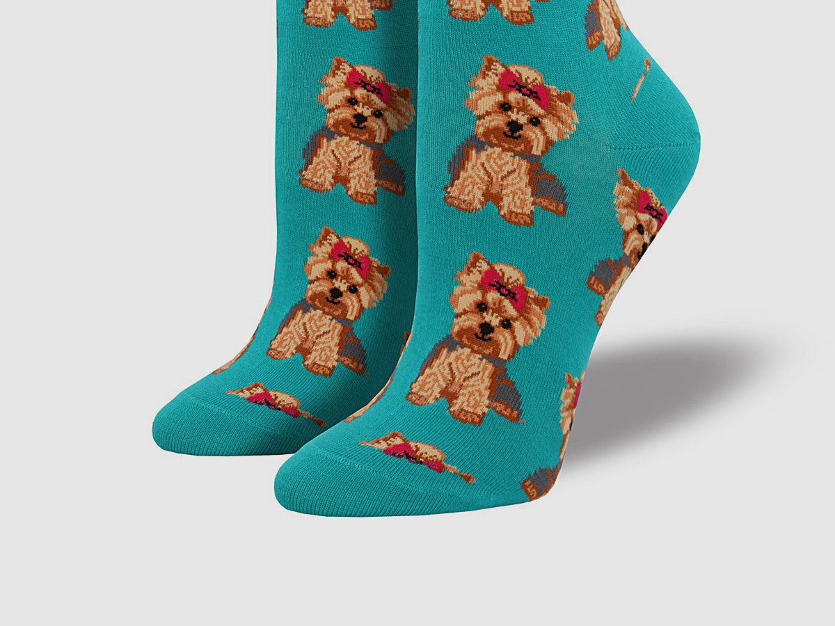 "Women's ""Yorkies"" Socks"