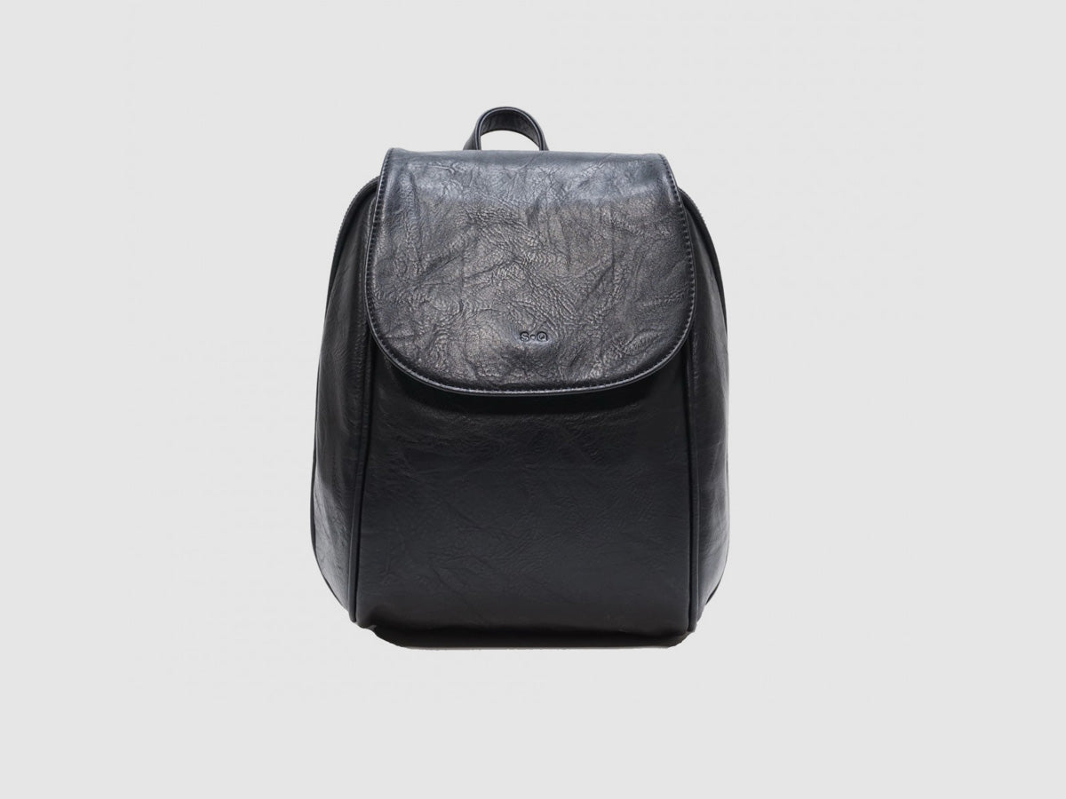 Jada Convertible Backpack - Black