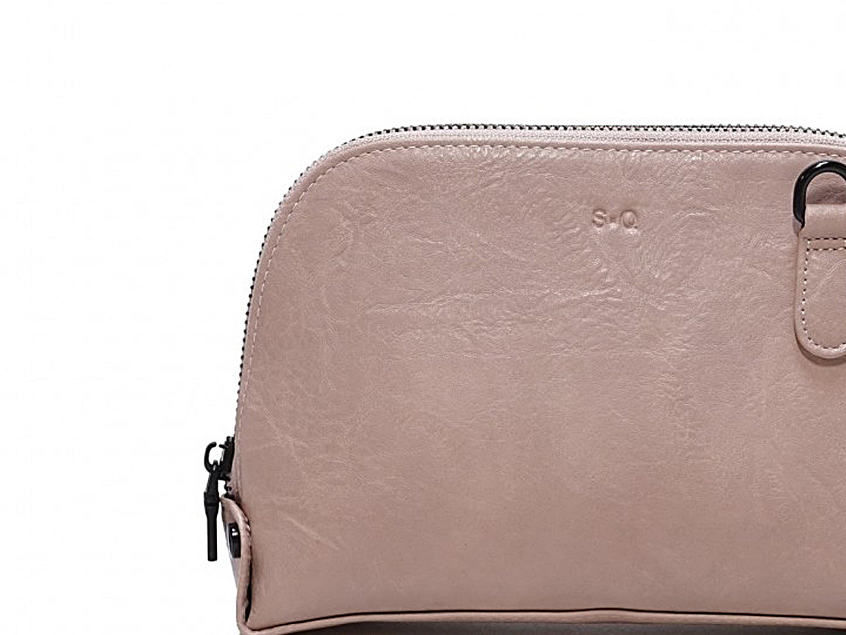 Vika Mini Crossbody Pedal Pink