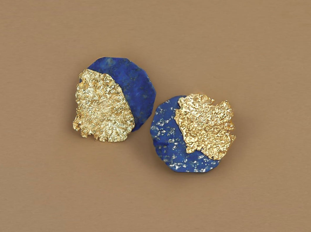 Lapis MOSS earrings