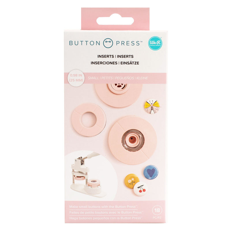 Button Press - Insertos Small (25mm) - WRMK
