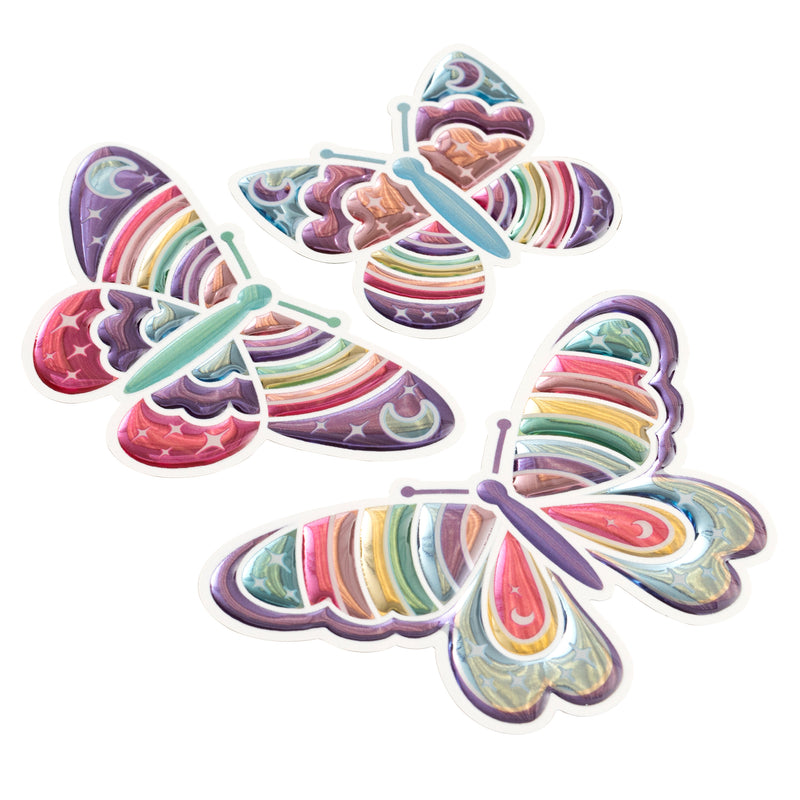 Butterfly Stickers - Sticko