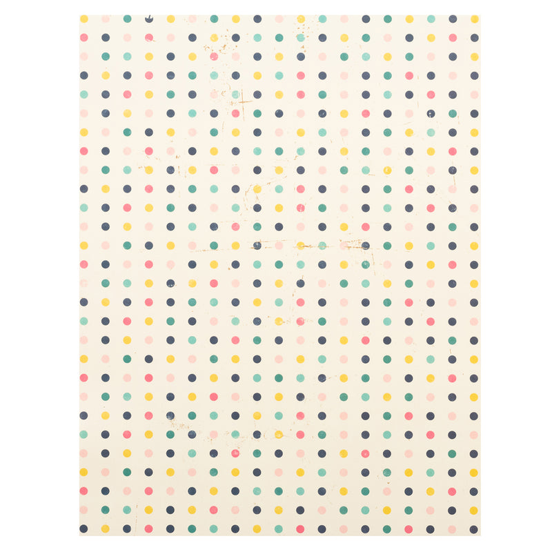 Specialty Paper - Lavable Polka Dots multicolor - AC