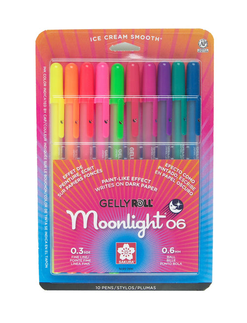 Gelly Roll Moonlight 0.6 mm (Individuales)