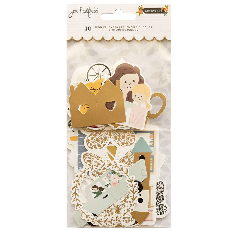The Avenue - Die Cuts - Jen Hadfield