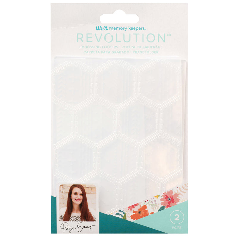 Revolution Embossing Folder Paige Evans - Folder de Estampado - WRMK