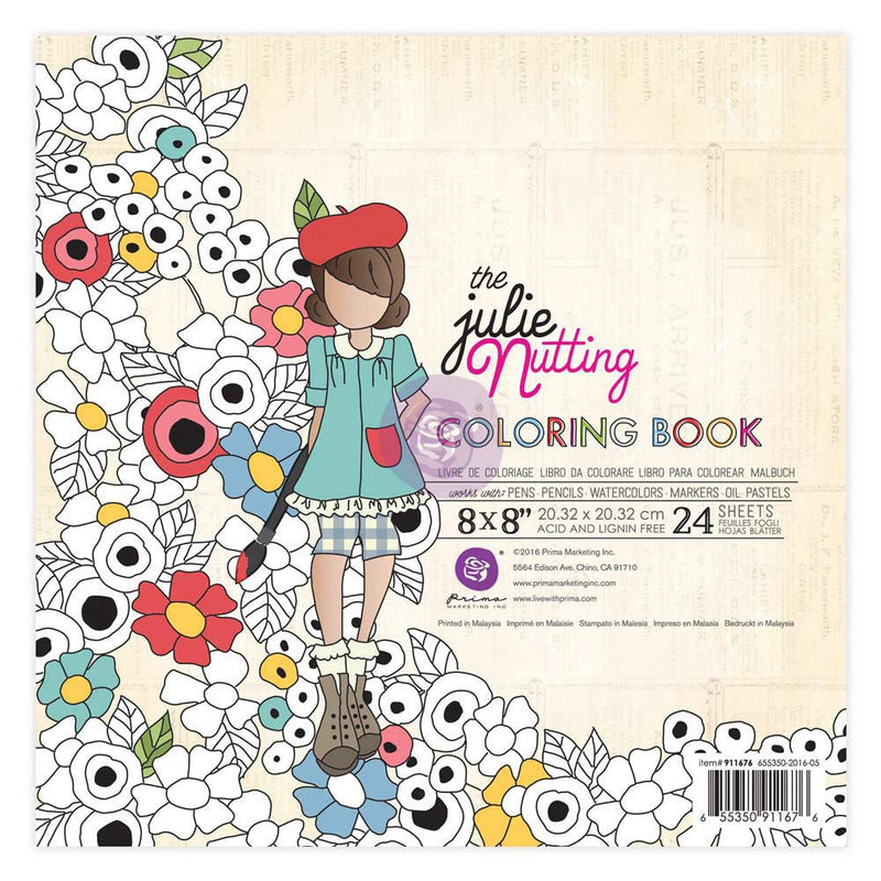 Libro de Colorear - Julie Nutting - Prima