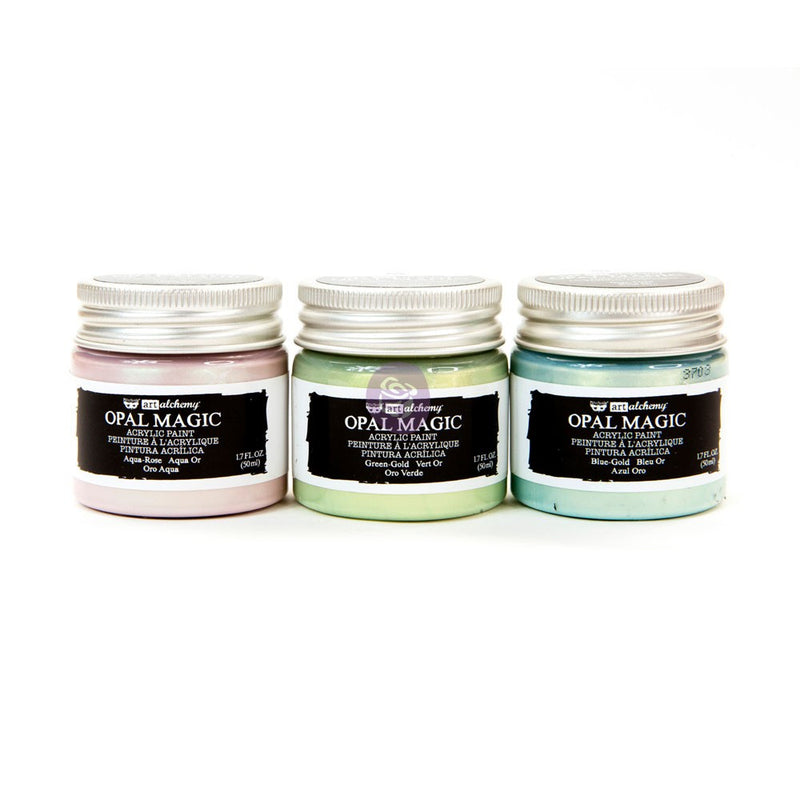 Art Alchemy - Opal Magic Pastel (Set de 3) - Prima
