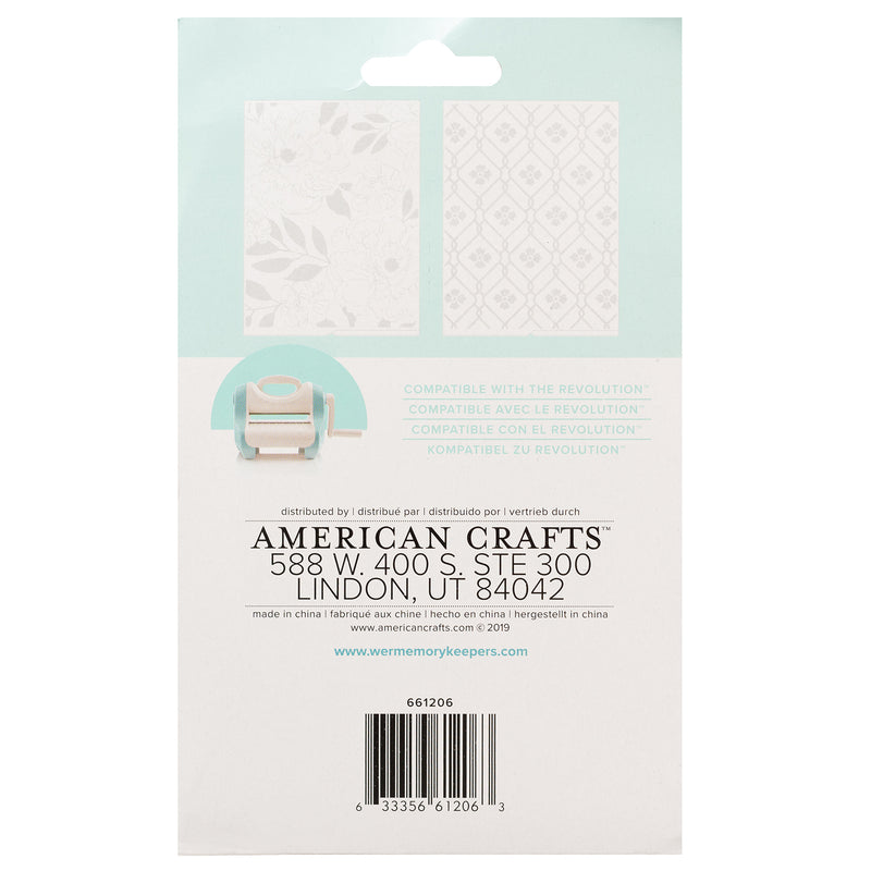 Revolution Embossing Folder Magie Holmes - Folder de Estampado - WRMK