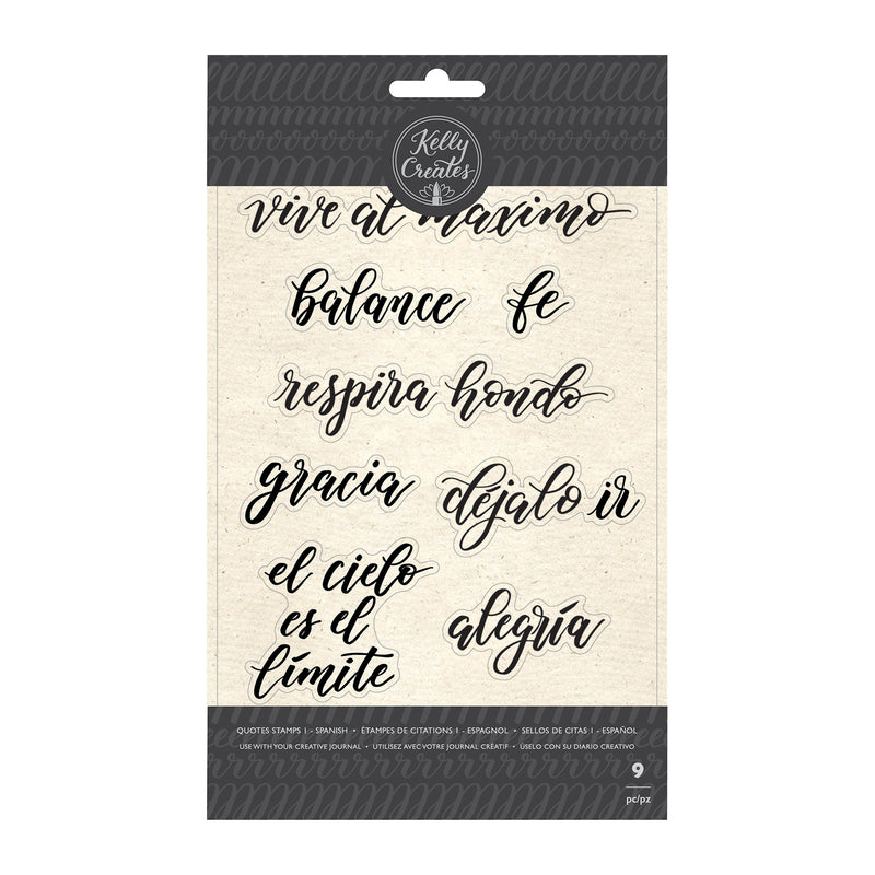 Quotes Stamps - Sellos de Frases 1 - AC