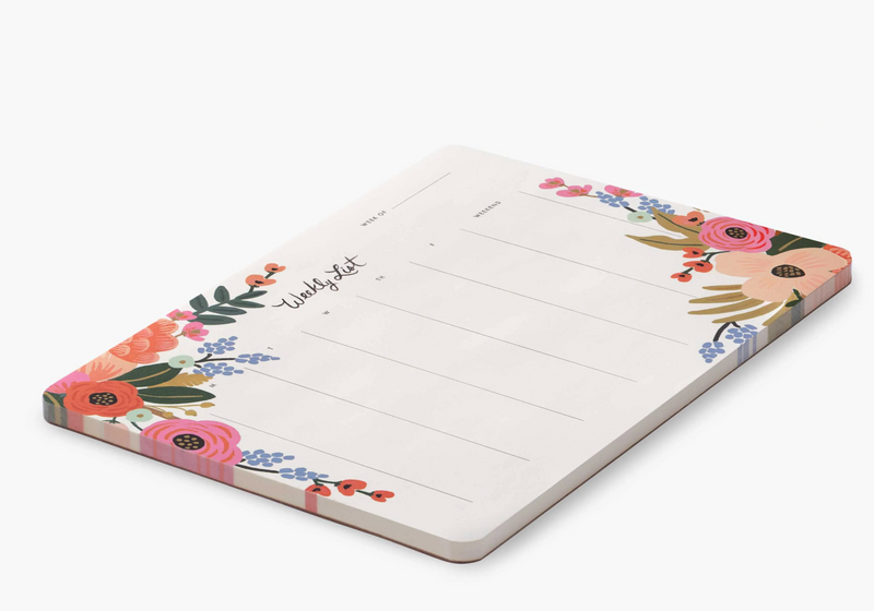 Weekly Desk Pad - Rifle Paper Co
