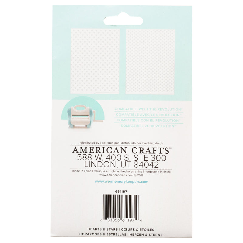 Embossing folder - folder de estampado - WRMK