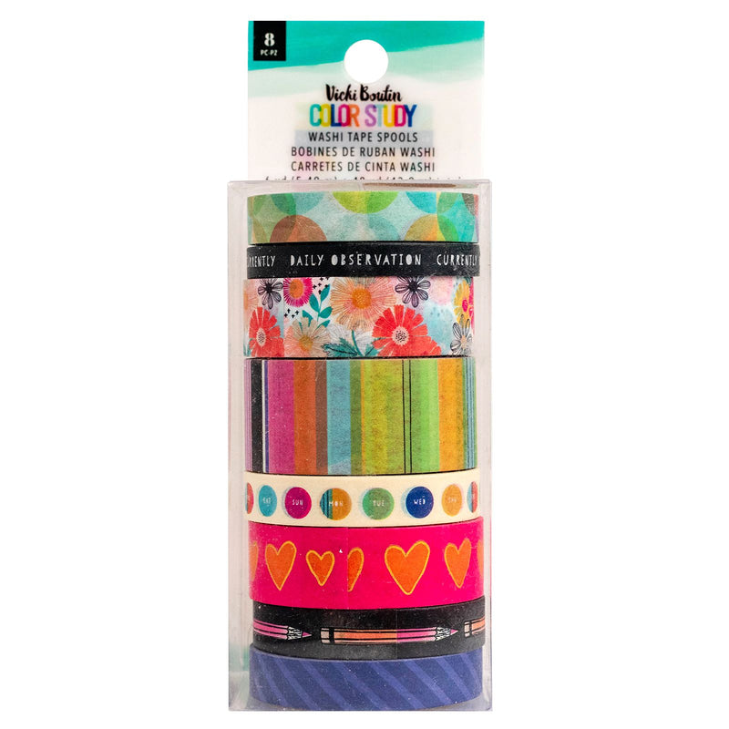 Color Study - Washi Tape Set - Vicki Boutin