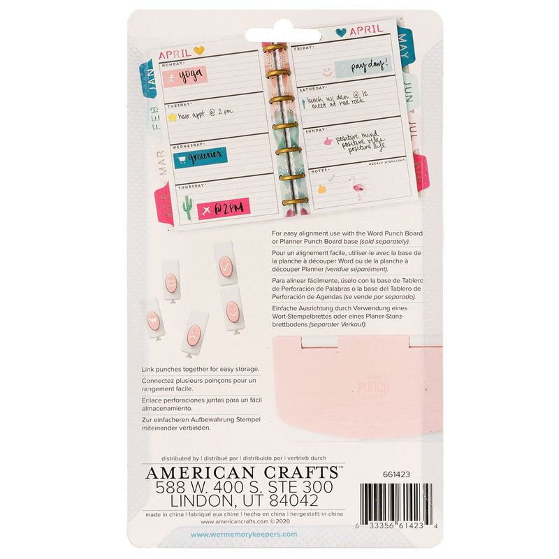 Icons Punch Set - Accesorio para Word Punch Board - WRMK