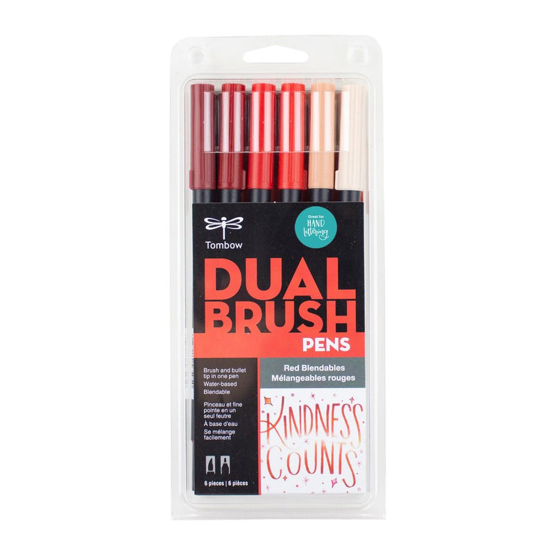 Red Blendables - 6 Pack - Tombow
