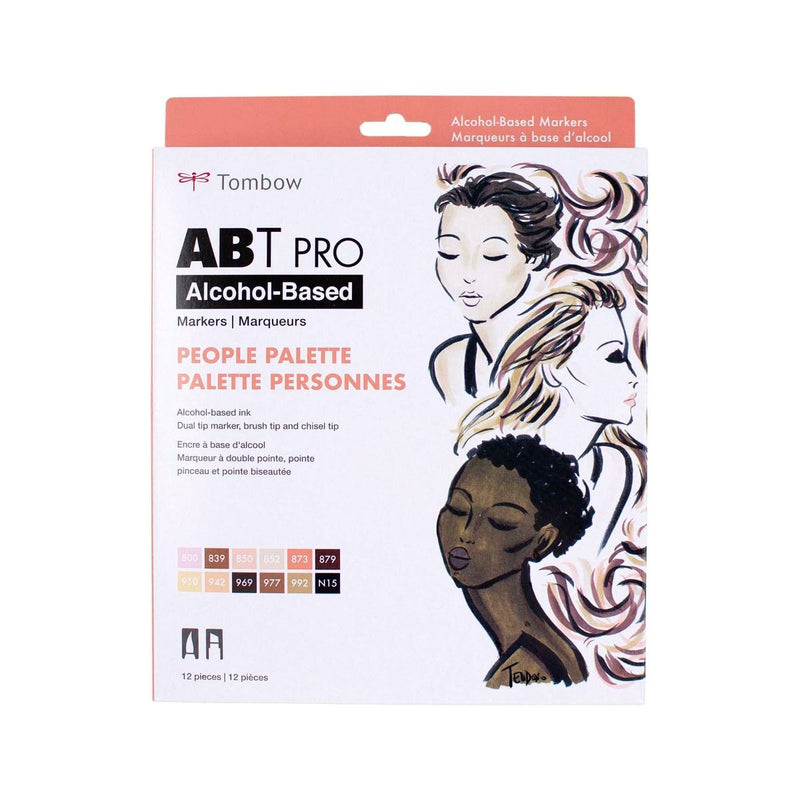 ABT Pro - (Alcohol Based) - People Palette (12 Und) - Tombow