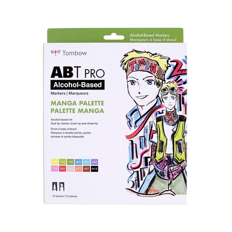 ABT Pro (Alcohol Based) - Paleta Manga (12 Und) - Tombow