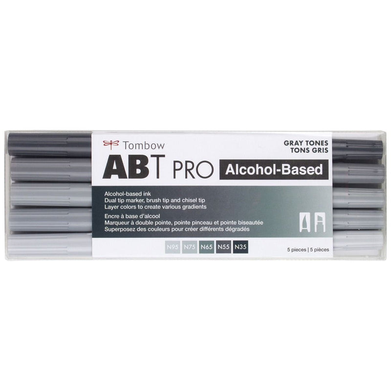 ABT Pro (Alcohol Based) - Grises (5 und) - Tombow